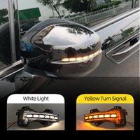 2pcs del coche del espejo retrovisor de vuelta del lado de la luz del intermitente para Honda CRV / URV / Ciudad / GREIZ / JADE / VEZEL / ODYSSEY / avancier / Jazz Izquierda Derecha DRL /