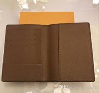 Lüks tasarımcı marka kadın cüzdan deri pasaport kapağı marka credt kart tutucu erkekler iş pasaport tutucu cüzdan carteira masculina