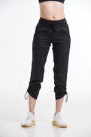 Pantalones de yoga sueltos Slim Women Sports Fitness High Cintura Yoga Pantalones deportivos transpirables Gimnasio Gimnasio Push Up Entrenamiento Leggings