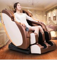 كامل الجسم صفر الجاذبية تدليك شياتسو الكهربائية كرسي كامل التلقائي 4d العجن والعجن كبسولة الفضاء مدلك