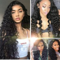 Full Lace Human Hair Wigs Pre- plucked Perimeter with Baby Ha...