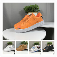 designer Men Women Low Cut one 1 shoes White Black orange ch...