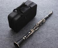 Klarinetter Musikinstrument Klarinett Högkvalitativ 17 Nycklar Crampon Clarinet med speltillbehör för musikaliska