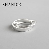 Shanice 100% Pure 925 Sterling Silver Rings For Women Double...