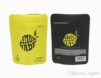 vape newest tang gray lemon nade mylar bag with sticker labe...