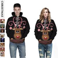 mens luxo designer de Natal Amante Unisex tshirts camisolas hoodies casacos Animal Print Tops Mulher Moletons outwear jaquetas 8 Estilo