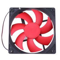 1pc ventilateur de refroidissement silencieux 120mm DC12V Powered Maglev commutateur ventilateurs silencieux ordinateur 1800 RPM 2 lignes 2pin 120x120x25mm