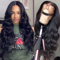 360 Body Wave Lace Wigs Human Hair Brazilian Black Women 130...