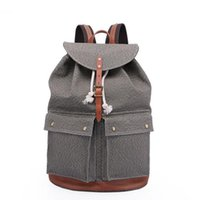 Travel Canvas Backpack For Men Women - Retro Multifunctional...