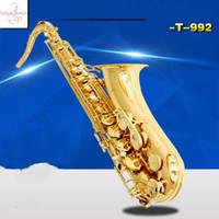 أفضل أداة QualityMusic ياناجيساوا الجديدة T-992 B-شقة تينور ساكسفون اللعب المهنية