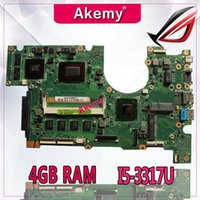 AKemy B400A Laptop motherboard I5- 3317U CPU REV. 2. 0 4GB RAM ...