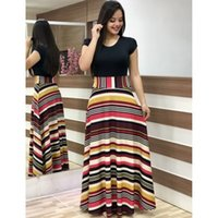Autumn Summer Ladies Dress Sexy Plus Size Party Dress Slim F...