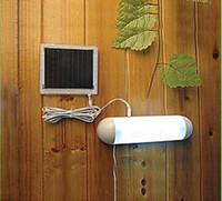estilo dividido Lámpara LED de cobertizo solar Al aire libre Corredor LED Patio Luces Batería Lámpara de carpa de emergencia LED solar