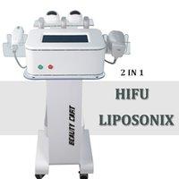 비 외과 지방 흡입 수술 Liposonix 기계는 기계 0.8cm 1.3cm 카트리지를 체중을 줄이는 초음파 hifu Liposonix 셀룰 라이트 감소를 집중 시켰습니다