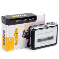 Portátil de captura de cassete MP3 para fita USB PC Super MP3 Music Player Audio Converter Gravadores leitores de cassetes-to MP3