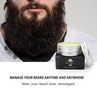 30g Beeswax Natural Beard Shape Conditioner Beard Balm Moust...