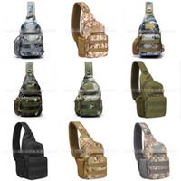 التمويه صغير الثدي حقيبة مراوح الجيش الدراجات الحقيبة واحدة الكتف حقيبة التخييم المشي على الأقدام بارد ماء 19kp o1