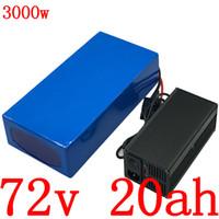 도 5a와 72V 72 72V 전기 자전거 배터리 2000V 3000W 전기 스쿠터 배터리 72V 20AH 리튬 배터리 충전기