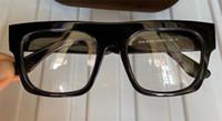 2020 Wholesale neue Modedesigner optische Gläser 5634 Platte quadratische Rahmen hochwertige klare Linse einfache Art transparente Brillen