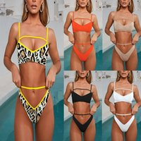 Diseñador de las mujeres Bikini traje de baño de una pieza de dos piezas traje de baño trajes de baño Biquini Body Beachwear Monokini para mujeres J190642