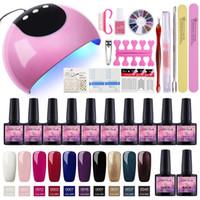 Hot Coscelia 24W Nail Dryer Manicure Set Verktyg för Manicure Nail Extension Set Set för Manicure Gel Nail Polish