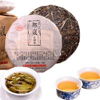 Hot Yunnan Sheng Pu-erh thé vert de haute montagne pure Matériel arbre ancien Pu'er thé Gâteau cru thé 100g
