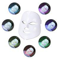 Nuovo Photon bellezza Maschera per il viso Terapia 7 colori della pelle LED di rimozione Cura ringiovanimento delle rughe viso acne Apparecchiatura di bellezza