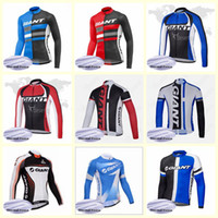 GIGANTE equipo Ciclismo Winter Thermal Fleece jersey 2019 Transpirable Quick-Dry Dry Riding Bicycle Clothes U52422