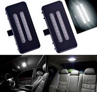 Lámpara de luz LED universal de 1 par 12V Espejo de baño visera para BMW E60 E90 E70 E71 E84 F25 sin error de 6000K