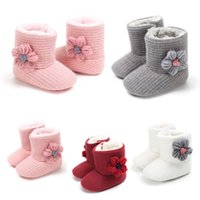 Newborn Toddler Bow Boots Baby Infant Girl Soft Soled Casual...