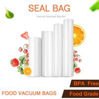 500cm de vacío Alimentación Bolsa de almacenamiento de alimentos sellador Bolsas cocina Película de embalaje siempre presentes