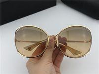 SASU-Gold / Brown Shaded Sonnenbrille Schmetterling Sonnenbrillen Frauen Mode Sonnenbrillen Brillen Shades neu mit Kasten