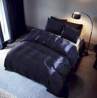 Set di biancheria da letto a colori soft king morbido doppio formato satinato estate usato letto singolo biancheria cina set kit copripiumino