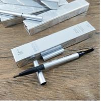 2018 ماكياج الساخن قلم رصاص قلم رصاص قلم الحواجب الحاجب مزدوج تلوين خشب الأبنوس لينة الشوكولاته البني التوصيل المجاني