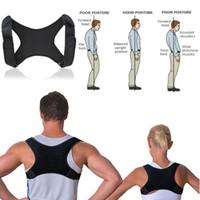 Terapia Voltar lombar Brace Spine Suporte Belt Postura correção para mulheres dos homens