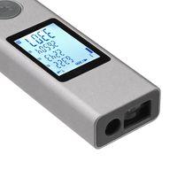 ATUMAN LS-1 Intelligenter Wiederaufladbare digitale Laser-Rangfinder-Entfernungsmesser-Reichweite Finder-Maßnahme
