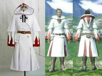 new Final Fantasy XIV Cosplay White Mage Costume Outfit