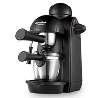Aparelhos de Cozinha Máquina de Café Italiana Casa Pequena Bomba de Vapor Semi-Automática Italiana Pressionando Espuma De Leite