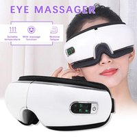 Pressões Eye Massager ar Eye Care dispositivo rugas Fadiga Aliviar Hot Compress Bluetooth Vibration Massagem Terapêutica Óculos