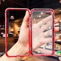 2020 Новое прибытие 360 градусов Защита Магнитный Адсорбция телефон чехол для Huawei P20 Pro 9Н Temper Стеклянная крышка
