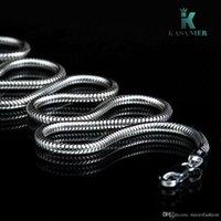 10pcs / lote Promotion! Wholesale 925 Collar de plata Moda de plata Joyería de la serpiente Cadena de serpiente 3mm Collares de plata Envío gratis Fábrica Price