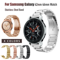 luxury Stainless Steel Strap for Samsung Galaxy Watch 42mm 4...