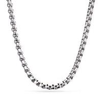 Collana in argento con catena a maglie di Rolo in acciaio inossidabile lucido da uomo alto lucido da 4,5 mm