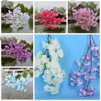Jedwabny kwiat Sartificial Sakura Symulacja Peach Blossom Kwiat Panna Młoda Holding Flowers 3 Peony Heads Home and Wedding Party Decoration LXL1069