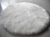 MUZZI Poilu Tapis en peau de mouton Chaise Couverture souple Chambre Faux Mat siège Pad longue zone Fluffy fourrure artificielle Tapis Lavable Textil 006 Couverture