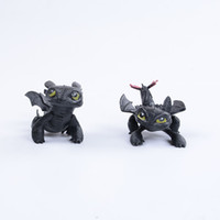 8cm Toothless Dragon How to Train Your Dragon 2 PVC Figure T...