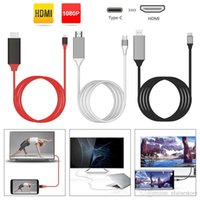 2. 0 USB- C USB 3. 1 Type C to HDMI 1080p HDTV Adapter Cable fo...