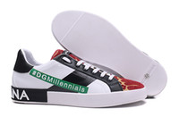 NEW Mens designers shoes DOLCE & GABBANA Portofino Sneakers ...