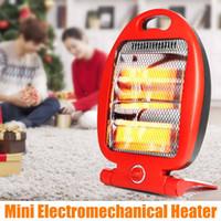 220V 800W Портативные электрические обогреватели Регулируемая Мини Микроэлектронные зима теплая Нагреватель Мини электромеханический Нагреватель для дома