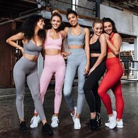 Women Solid Color Yoga Tracksuit 5 Colors Fitness Sportswear...